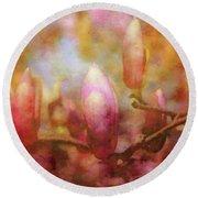 Tulip Tree Candelabra 8864 Idp_2 Round Beach Towel