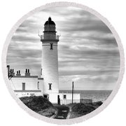 Turnberry Lighthouse Round Beach Towel