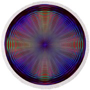 Turning And Spinning Round Beach Towel