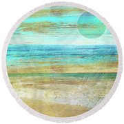 Turquoise Moon Day Painting By Mindy Sommers