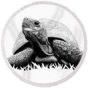Turtle Round Beach Towel