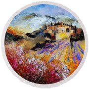 Tuscany 56 Round Beach Towel