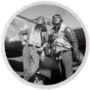 Tuskegee Airmen Round Beach Towel