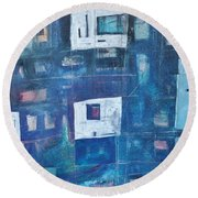 Twilight Highrise Round Beach Towel
