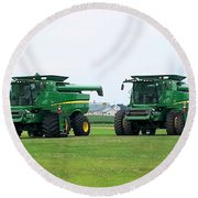 Twin Combines Round Beach Towel