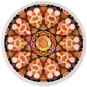 Twin Round Beach Towel
