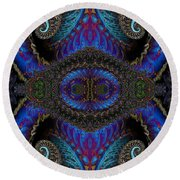 Twin Quad Round Beach Towel