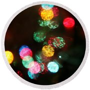 Twinkle Round Beach Towel