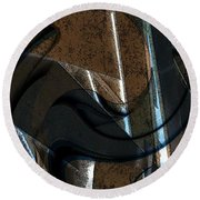 Twisted Metal Round Beach Towel