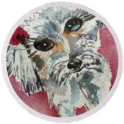 Two Bows Round Beach Towel
