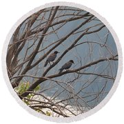 Two If By Tree Round Beach Towel