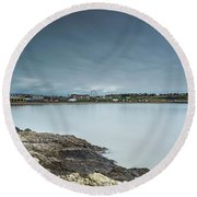 Two Minutes At Barry Island Round Beach Towel