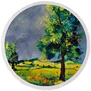 Two Oaks 56 Round Beach Towel