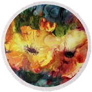 Two Or More Round Beach Towel