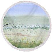 Tybee.2 Round Beach Towel