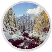 Tyndall Creek Round Beach Towel