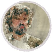 Tyrion Lannister, Game Of Thrones Round Beach Towel
