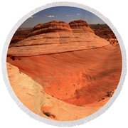 Ufo In Coyote Buttes Round Beach Towel