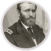 Ulysses S. Grant, 1822 To 1885. Union Round Beach Towel