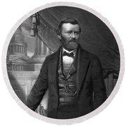 Ulysses S. Grant, 18th American Round Beach Towel