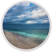 Uncertainty  5780 Round Beach Towel