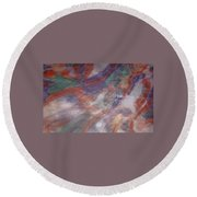 Unclaimed Talent  Round Beach Towel
