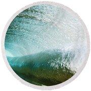 Underwater Barrel Round Beach Towel