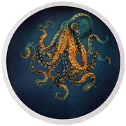 Underwater Dream Iv Round Beach Towel