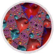 Underwater World - Series Number 33 Round Beach Towel