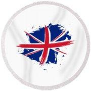 Union Jack - Flag Of The United Kingdom Round Beach Towel