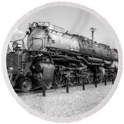 Union Pacific 4012 Round Beach Towel