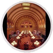 Union Station - St. Louis Round Beach Towel