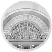 Union Station Washington Dc Round Beach Towel