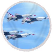 United States Air Force Round Beach Towel