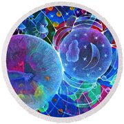 Universal Transect Round Beach Towel