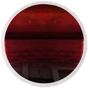 Unknown Planet Round Beach Towel