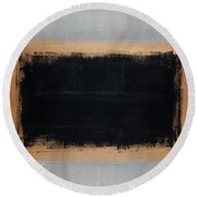 Untitled No. 15 Round Beach Towel