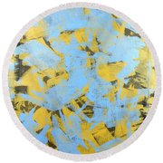 Untitled No.19 Round Beach Towel