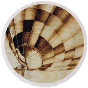 Up Round Beach Towel