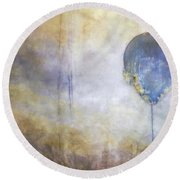 Up Up And Away... Round Beach Towel