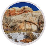 Upper Colorado River Scenic Byway Round Beach Towel
