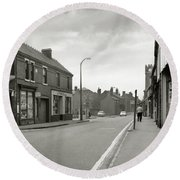 Upper High Street, Lye - 1960's    Ref-63 Round Beach Towel