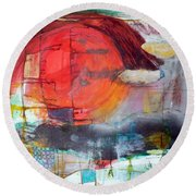Urban Myth Round Beach Towel