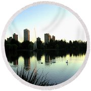 Urban Paradise Round Beach Towel