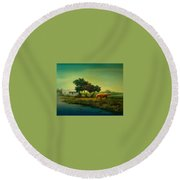 Urja Round Beach Towel