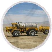 Us #1 Soil Stabilization Company - Envirotac Round Beach Towel