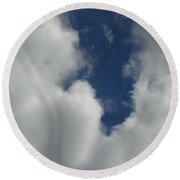 Us Navy Blue Angels Air Show Photo 1 Round Beach Towel