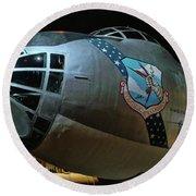Usaf Museum B-36 Cold War Round Beach Towel