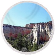 Utah 12 Round Beach Towel