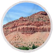 Utah 2 Round Beach Towel